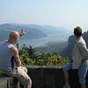 Andrew describing Columbia Gorge to Vadis