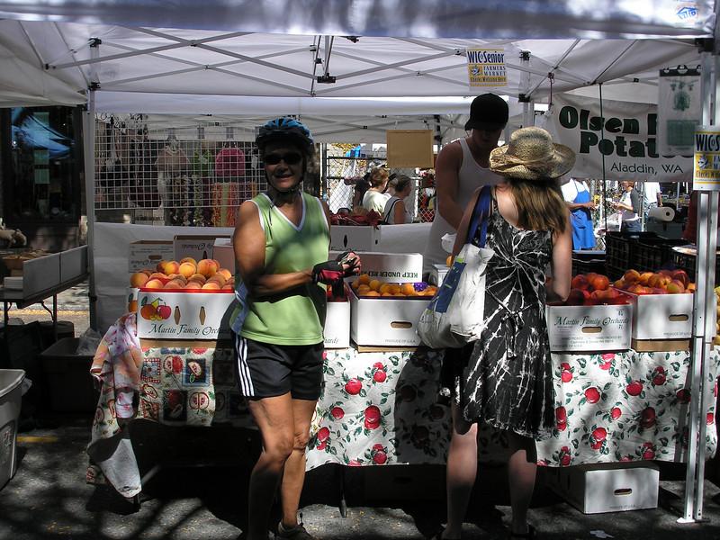 Vadis in Seattle farmer's market