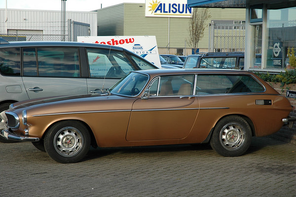 2006-11-18 Volvo P 1800 ES en bezoek Alkmaar