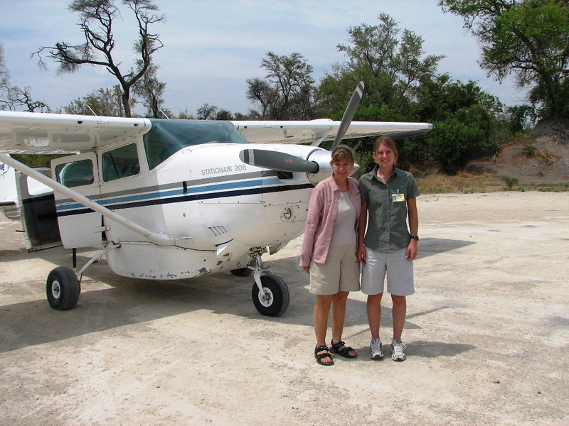 The trip to our second African lodge and game park involved a small plane flight.  Our pilot was Fiona.  While she looked 18, she assured us that she was 25 and had been flying for over a year.