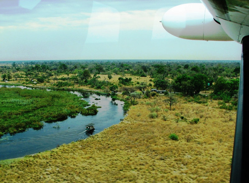 After three exciting days in Namibia we boarded our small planes and bid farewell to the Kwando River.