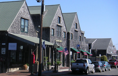 MINOLTA  Nantucket.  I think there is a code here so that you have to build these drab gray shingled buildings.