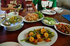 第一天吃的柬式中餐,菜名不是不記得就是看不懂