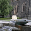 Fountain at Saint Patrick's Cathedral