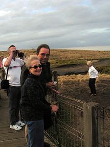 Ann and Jim Buck on Phillip Island
