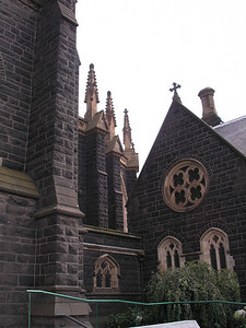 Roof lines - Saint Patrick's Cathedral