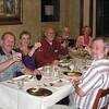 John & Carol Sievers; Gil Gray; Jim & Linda Magnusen - Farewell dinner