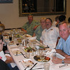 Wilbur Brown; Betty & Bob Walko; Steve Snider - Farewell dinner