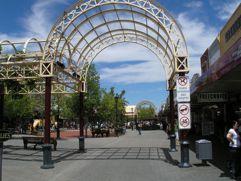 Shopping Mall area - Bendigo