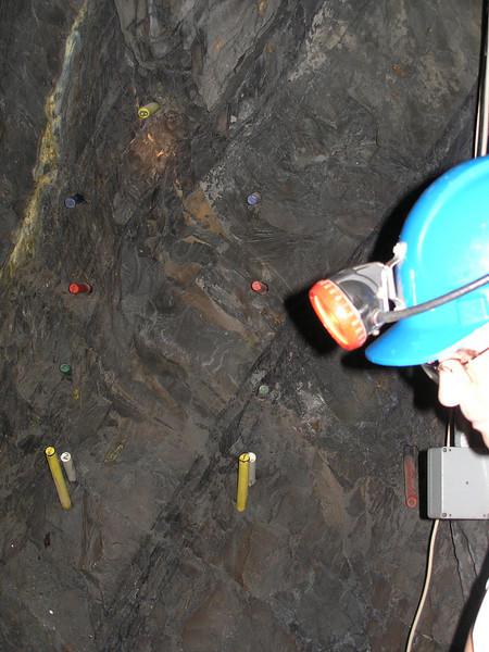 Explosives inside Gold Mine - Bendigo