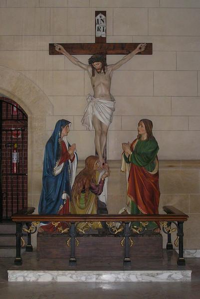 Crucifix Statue - Bendigo Cathederal