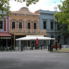 Stores in Bendigo - Note the iron work