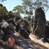 On the trail - Hanging Rock Reserve