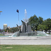 Fountain in Victoria Square - Adelaide