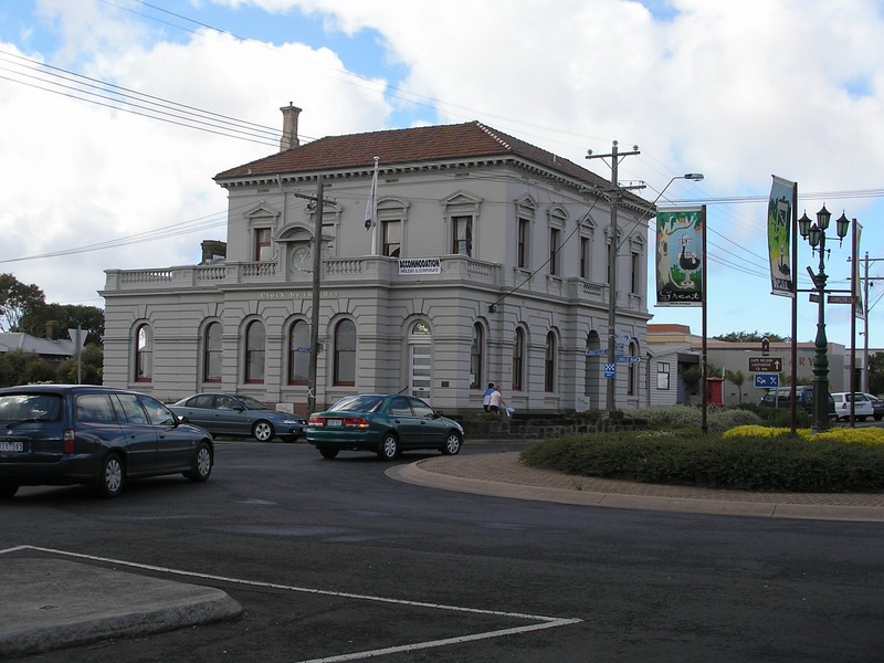 Corner Building at Portland