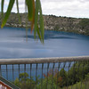 Blue Lake in crater at Mount Gambier