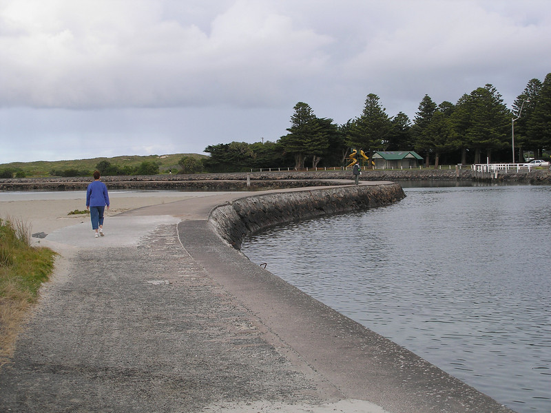 Walkway on the Island at Port Fairy