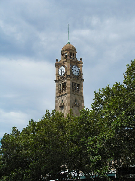 Clock tower of Central Train Terminal - Sydney
