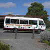 Outside Jacob's Creek Winery - Couldn't resist the name of the bus