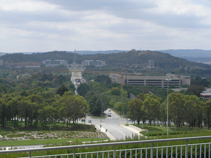 View from Parliament building roof