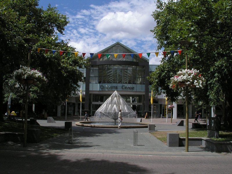 Downtown Canberra