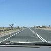 What it looked like on the road across the outback