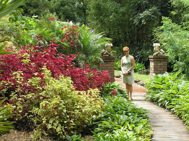 Vadis in the gardens
