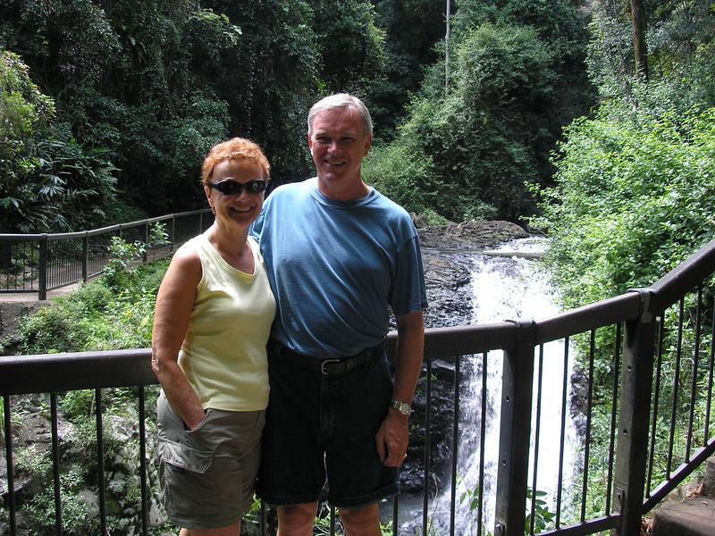 Falls at Natural Bridge