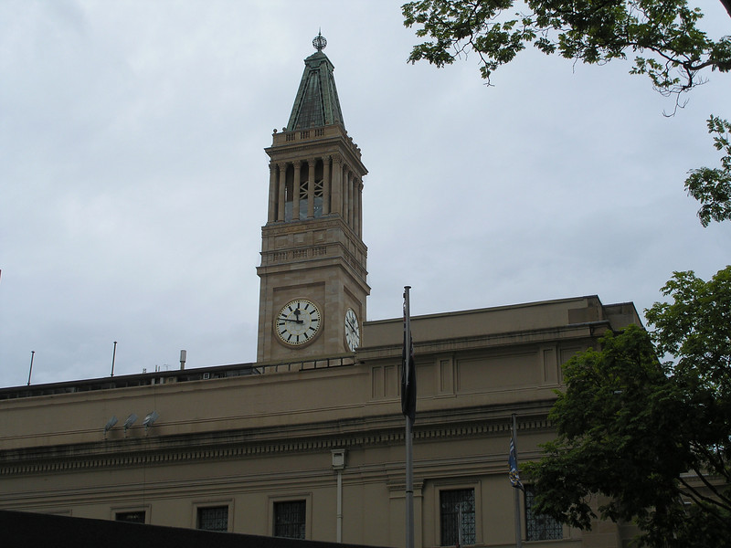 Clock Tower - Brisbane old town hall