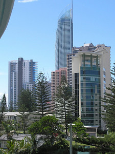 View toward downtown Surfers Paradise from Emerald Sands