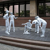 White statues - Brisbane
