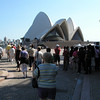Opera House - with tour group