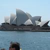 Opera House as seen from Sydney harbour