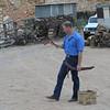 Boomerang demo at quarry