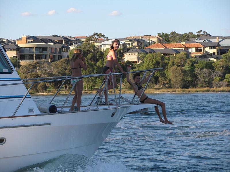 Fun on the Swan river