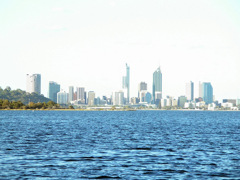Perth from Swan river