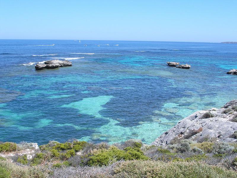 Scuba waters at Rottnest Island