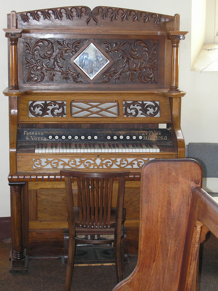 Organ in Fremantle Prison Chapel