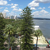 Upstream Swan river from Swan Bell tower