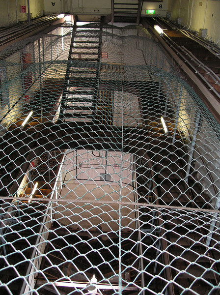 Fremantle Prison - suicide net