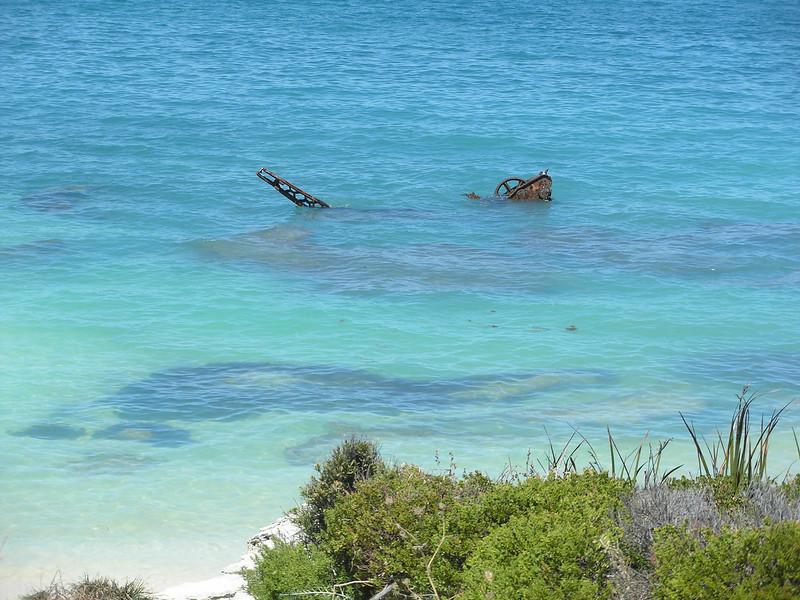 Water off shore of Rottnest Island