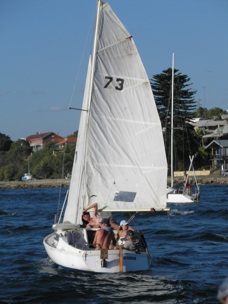 Labor Day sail on Swan river
