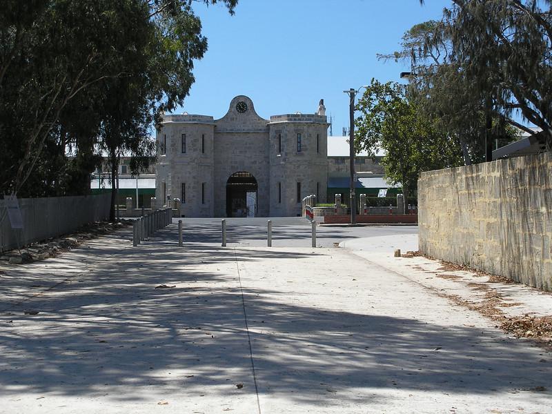 Fremantle Prison entrance