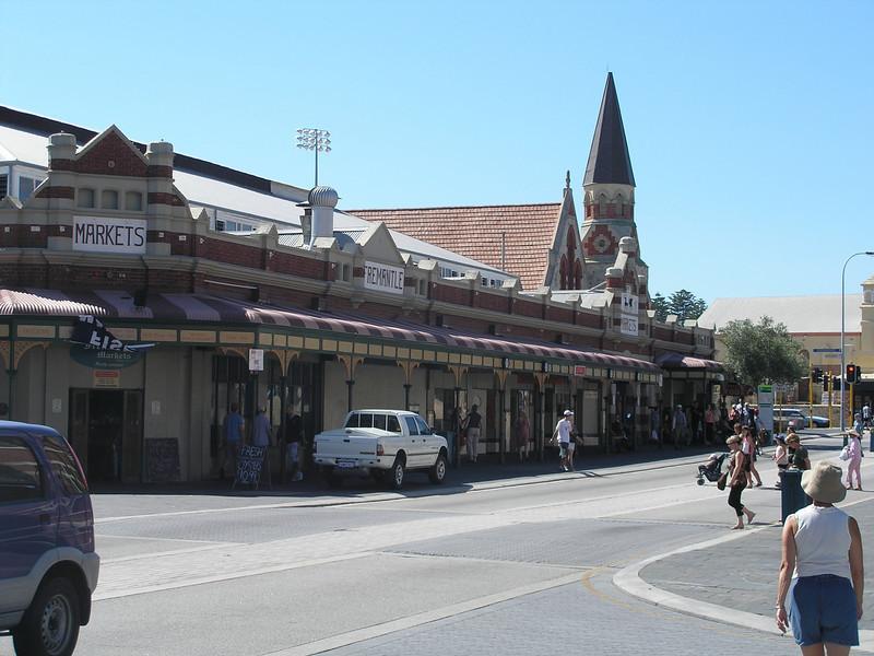 Entrance to Fremantle Markets