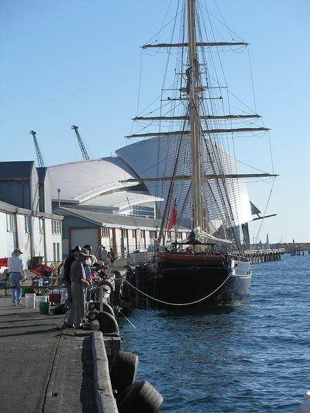 Fremantle dock