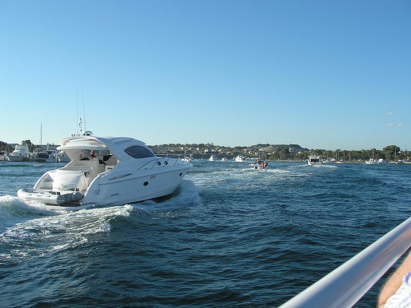 Swan River flotilla