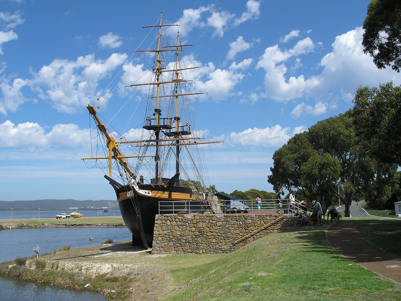 Replica of ship for first sailors to land at Albany