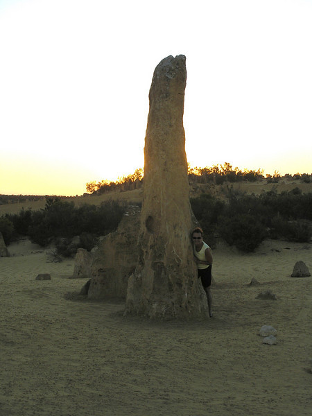 Pinnacle at sunset