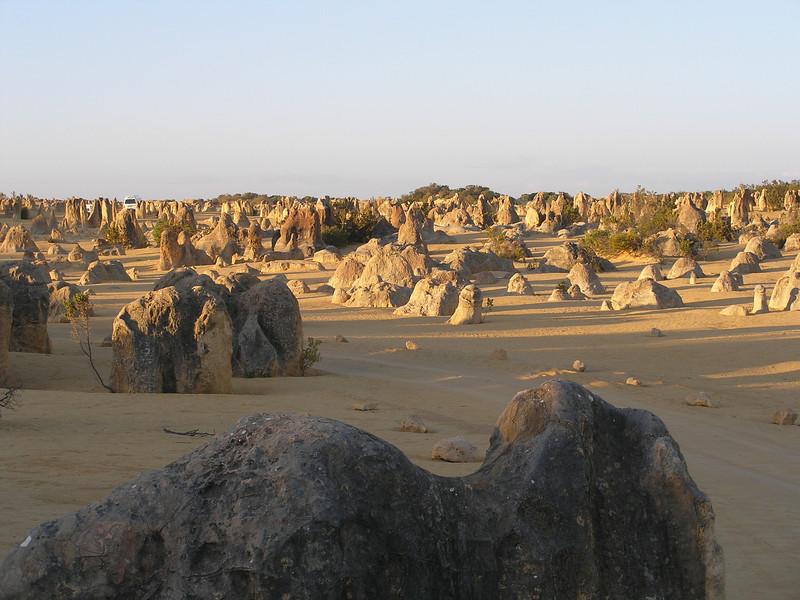 Pinnacles in Nambung National Park near Cervantes