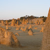 Pinnacles near sunset